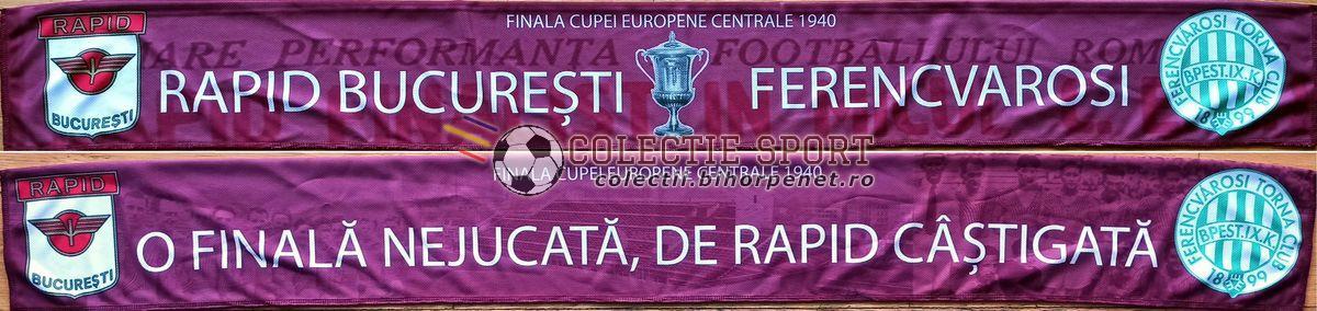 Rapid - Ferencvaros: O finală nejucată, de Rapid câștigată