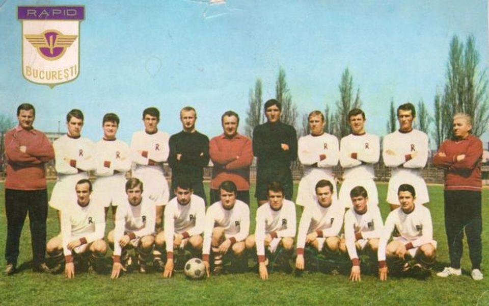 Rapid București 1966 - 1967, prima echipă campioană din istoria clubului