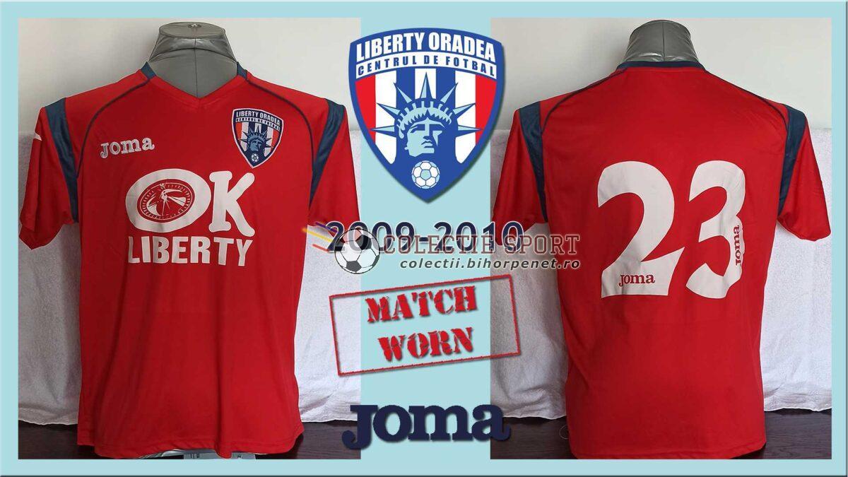 Tricou de joc CF Liberty Oradea, Joma, sezon 2009-2010