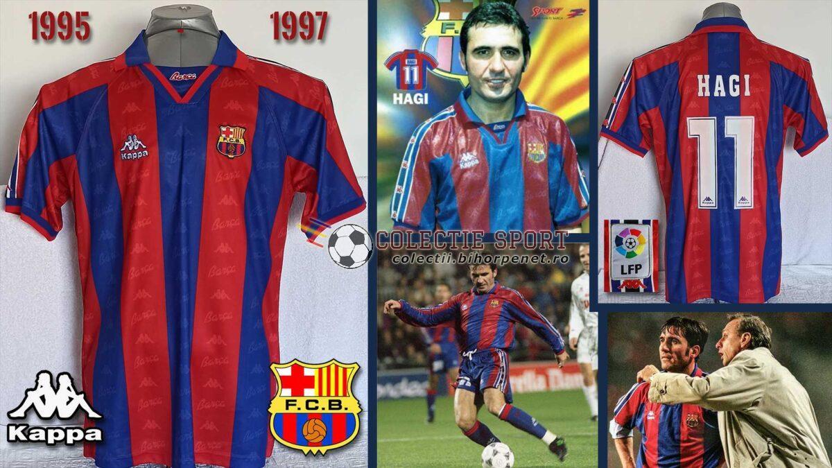 Tricou Kappa FC Barcelona, 1995-1997 Home, 11. Gheorghe Hagi