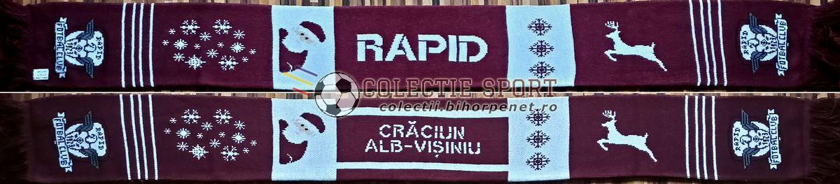 Rapid București - Crăciun alb vișiniu @2020
