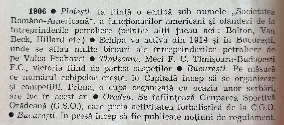 """Fragment din cartea """"Fotbal de la A la Z"""", Mihai Ionescu, Mircea Tudoran, Editura Sport-Turism, 1984"""