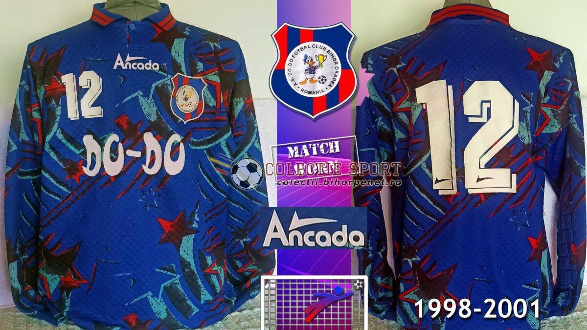 Bluză de portar Do-Do FC Bihor Oradea, 1998-2001, Ancada, 12, match worn